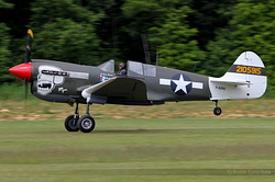 Curtiss P-40N Kittyhawk F-AZKU