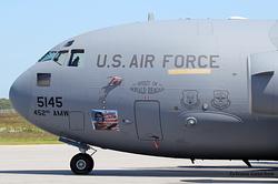 McDonnell Douglas C-17A Globemaster III US Air Force 05-5145