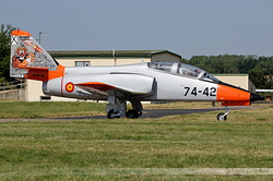CASA C-101EB Aviojet Spain Air Force E.25-18 / 74-42