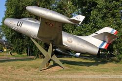 Dassault MD-450B Ouragan Armée de l'Air 187 / UI