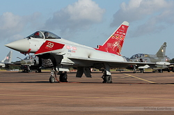 Eurofighter EF-2000 Typhoon FGR4 Royal Air Force ZK353