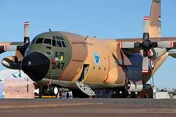 Lockheed C-130H Hercules Jordan Air Force 347