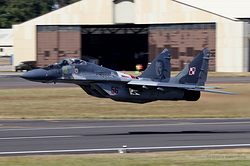 Mikoyan-Gurevich MiG-29A Poland Air Force 56