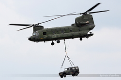 Boeing CH-47D Chinook Netherlands Air Force D-666