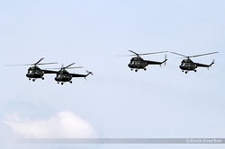 Mil Mi-2 Poland Army 4708, 5343, 7335 & 8220