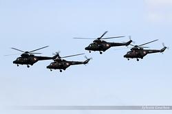 PZL-Swidnik W-3W Sokol Poland Army 0604, 0611, 0817 & 0818