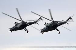 Mil Mi-24V Poland Army 738 & 736