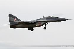 Mikoyan-Gurevich MiG-29A Poland Air Force 83