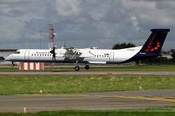 De Havilland Canada DHC-8-402Q Dash 8 Brussels Airlines G-ECOI