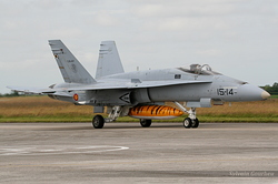 McDonnell Douglas EF-18M Hornet Spain Air Force C.15-27 / 15-14