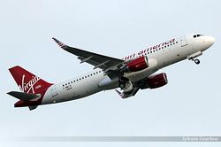 Airbus A320-214SL Virgin America N286VA /  F-WWIH