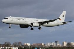 Airbus A321-231 Belgium Air Force CS-TRJ