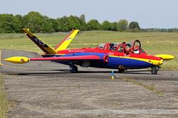 Fouga CM-170 Magister Groupe Tranchant F-GKYF