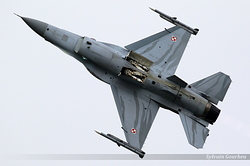 General Dynamics F-16C Fighting Falcon Poland Air Force 4056