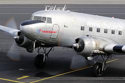 Douglas C-47B Dakota Chalair F-AZOX