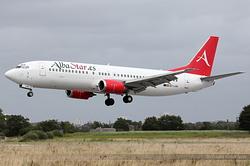 Boeing 737-408 Alba Star EC-LAV
