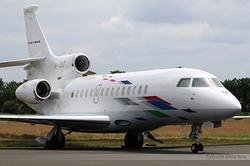 Dassault Falcon 7X VW Air Services VP-CRS