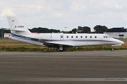 Cessna 680 Citation Sovereign Plus Aerowest Flugcharter D-CAWX