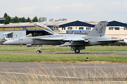 Boeing F/A-18F Super Hornet US Navy 166660 / AD-233