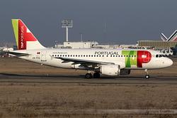 Airbus A319-112 TAP Portugal CS-TTU