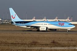 Boeing 737-86J TUI Airlines Belgium OO-TUV