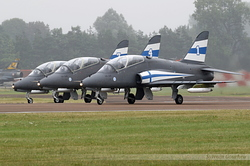 British Aerospace Hawk Mk51 Finland Air Force HW-341, HW-345, HW-334