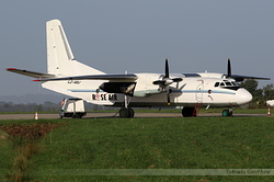 Antonov An-26B Rose Air LZ-ABJ