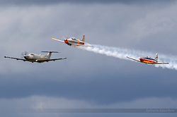 Pilatus P3 D-EPCI, Pilatus PC-7 N60LT & Pilatus PC-12 OO-NLT