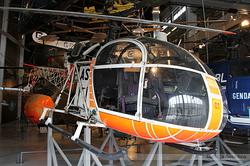SNCASE SE 3130 Alouette II Centre d'Essais en Vol (CEV) 01 / AS