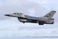 General Dynamics F-16AM Fighting Falcon Netherlands Air Force J-016