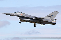 General Dynamics F-16AM Fighting Falcon Netherlands Air Force J-196