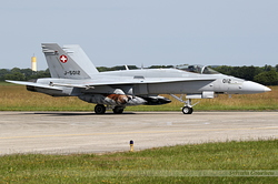 McDonnell Douglas F/A-18C Hornet Switzerland Air Force J-5012
