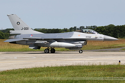 General Dynamics F-16AM Fighting Falcon Netherlands Air Force J-001