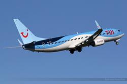 Boeing 737-86N TUI Airlines Belgium OO-TUX