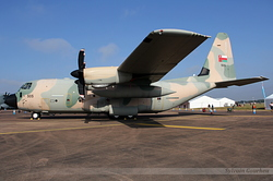 Lockheed Martin C-130J Hercules Oman Air Force 505