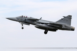 Saab JAS-39C Gripen Sweden Air Force 39278