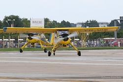 PZL-Mielec 104 Wilga 35A Romanian Airclub YR-VIS & YR-VLE