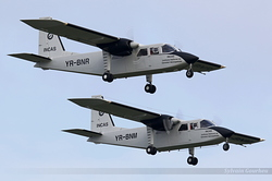 Britten-Norman BN-2A-27 Islander INCAS - Institutul National de Cercetari Aerospatiale YR-BNR & YR-BNM
