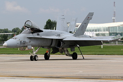 McDonnell Douglas EF-18M Hornet Spain Air Force C.15-22 / 15-09