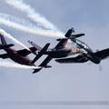 Vought F4U-4 Corsair Red Bull (The Flying Bulls) OE-EAS & Dassault-Dornier Alpha Jet A Red Bull (The Flying Bulls) OE-FAS & OE-FRB
