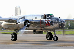 North American B-25J Mitchell Red Bull (The Flying Bulls) N6123C