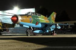 Mikoyan-Gurevich MiG-21UM Romania Air Force 071