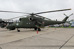 Mil Mi-24V Poland Army 732