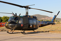 Bell UH-1H Huey Hellenic Army ES611
