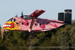 Short SC-7 Skyvan 3-100 Pink Aviation OE-FDN
