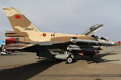 General Dynamics F-16D Fighting Falcon Royal Moroccan Air Force MS-08 / 08-8024