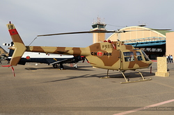 Agusta-Bell AB.206B JetRanger Royal Moroccan Air Force 8635 / 18 / CN-AQR
