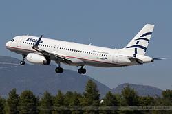 Airbus A320-232 Aegean Airlines SX-DND