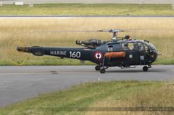 Sud-Aviation SA-319B Alouette III Marine Nationale 2160 / 160