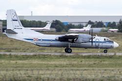 Antonov An-26 Russian Air Force 36 Red / RF-36009